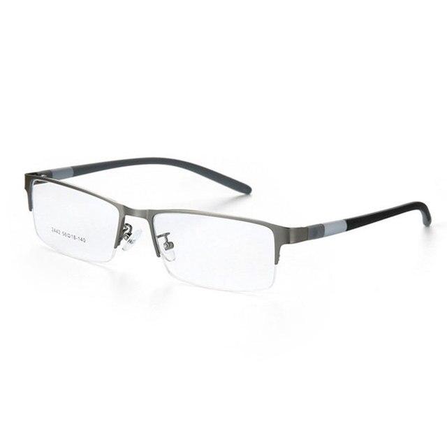 Eyewear סגסוגת משקפיים מסגרת גברים משקפיים אופטיים מרשם משקפיים זכר מחזה לגבר Eyewear