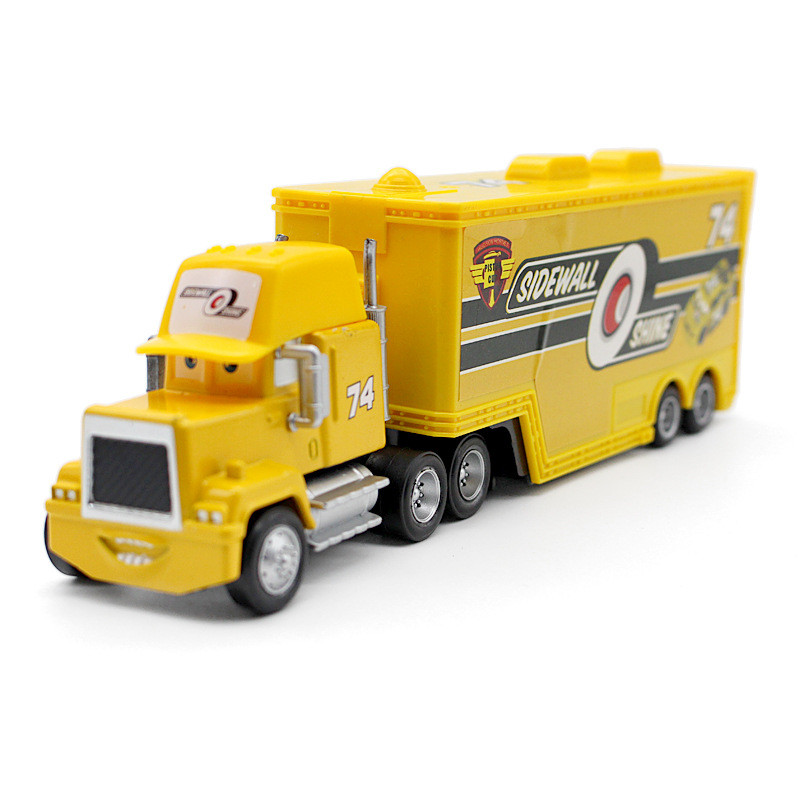 Amazon.com: Cars Sidewall Shine Hauler: Toys & Games