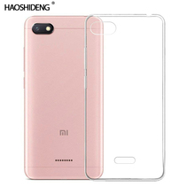 Case For Xiaomi Redmi 6A TPU Silicon Durable Clear Transparent Soft Case for Xiaomi Redmi 6A Phone protective Back Cover все цены