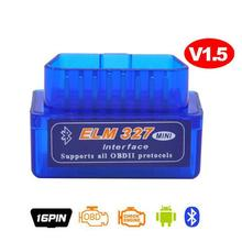 V1.5 Auto Diagnostic Scanner Elm327 V 1.5 Bluetooth Obd2 Scanner Auto Code Reader Car Diagnostic Interface Scan Tool