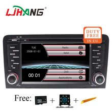 LJHANG 2 Din 7 Pollici Car Multimedia Player per Audi A3 S3 2002-2013 di Navigazione GPS Bluetooth Audio Stereo headunit Radio RDS USB