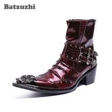 Новые Домашние тапочки из натуральной кожи мужская обувь; Ботинки