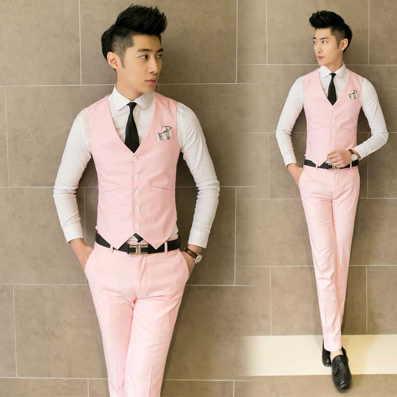 4d37b18882 2017 men suit leisure vest impact the groom's best man wedding clothes-in  Vests & Waistcoats from Men's Clothing on Aliexpress.com | Alibaba Group