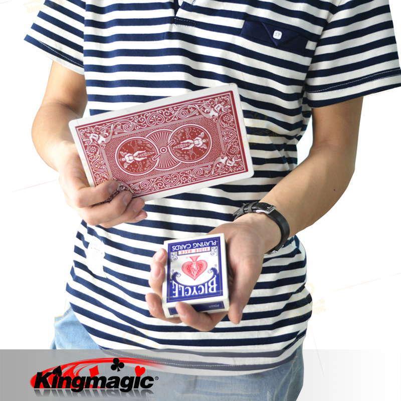 Tours de Magie jouets magiques drôles enfants facile à faire gros plan téléphone de Magie de pont jouets étonnants changeant les accessoires de Magie de poker