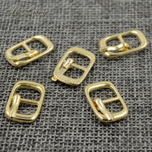 Bags Belt-Buckles Shoes Diy-Accessory Sewing-Xk088 Metal Round Small Gold 30pcs/Lot Alloy