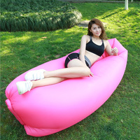 Lazy Bed Living Room Furniture Beach Portable Outdoor Inflatable Chair Furniture Sofa Sleeping Camping Air Sofa