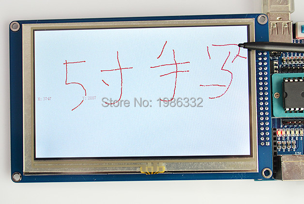 WS16 5 5 0 inch TFT LCD Display 800 480 Touch Panel Screen Module SSD1963 Controller
