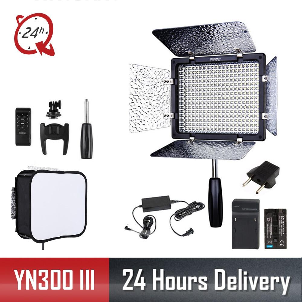Yongnuo Original YN300III YN300 III YN 300 III 3200k 5500K CRI95 Camera Photo LED Video Light