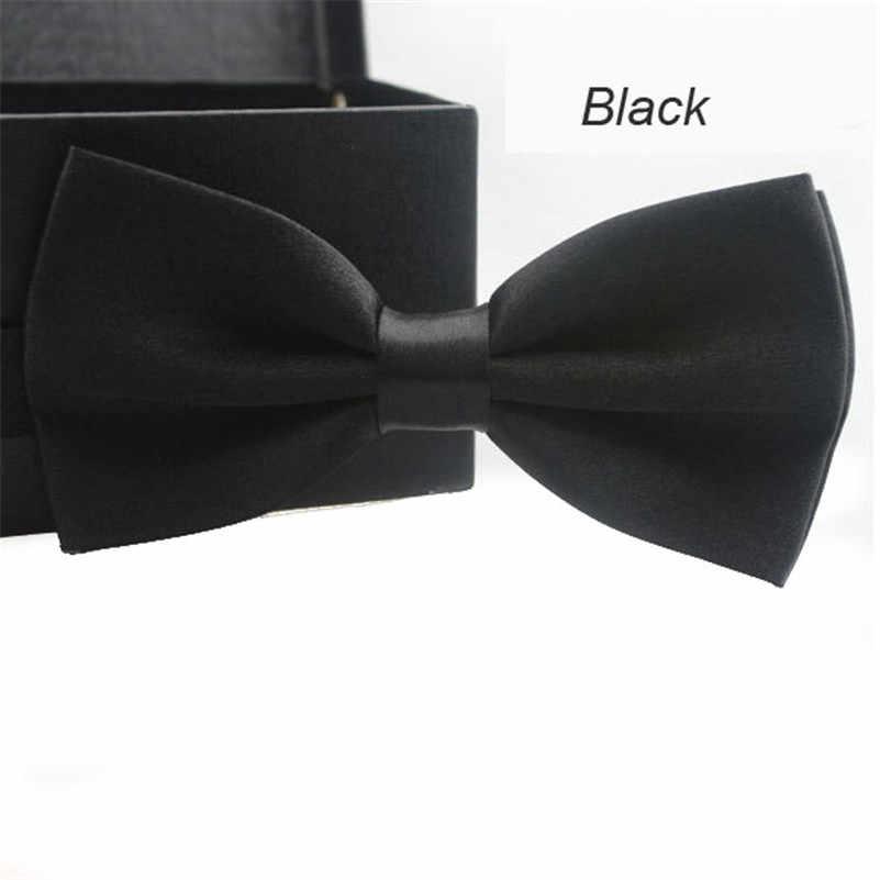 Bowtie mężczyźni formalny krawat klasyczny moda nowość mężczyzna regulowany Tuxedo formalne na wesele muszka imprezowa krawat krawat/PY