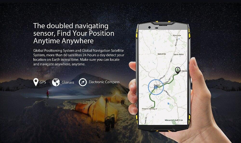 "HTB1KIX4uOQnBKNjSZFmq6AApVXaU Blackview BV6800 Pro Android 8.0 Outdoor Mobile Phone 5.7"" MT6750T Octa Core 4GB+64GB 6580mAh Waterproof NFC Rugged Smartphone"