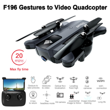 Foldable RC Drone with 2MP HD Camera Optical Flow Localization 20mins Flight Time Mini RC Quadcopter Helicopter VS SG700 XS809S