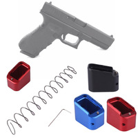 Tactical Holster Magazines Base Pad KIT For Glock 19 23 4 5 Airsoft CNC Machined Base