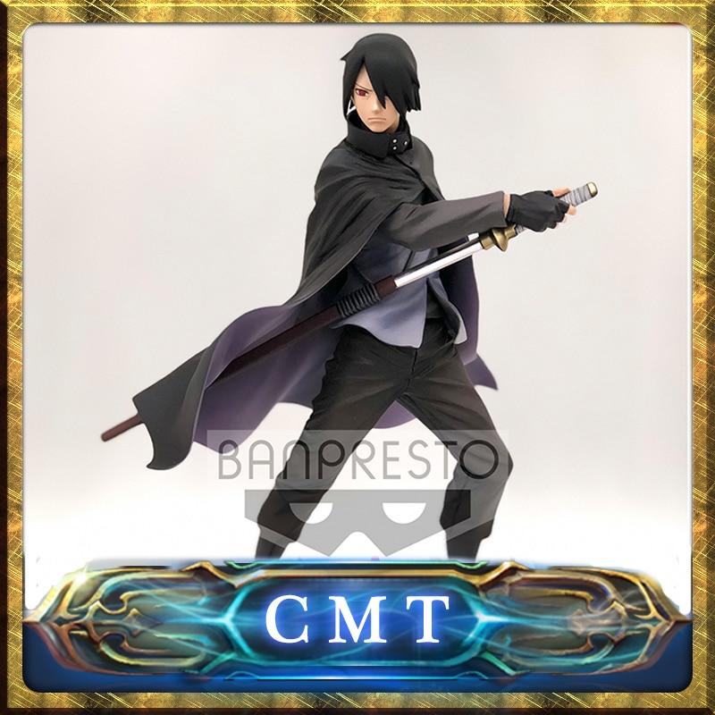 CMT Origianl Banpresto Boruto Naruto Next Generations Sasuke Akatsuki Figure (Overseas Limited) Anime PVC Toys Figure цена