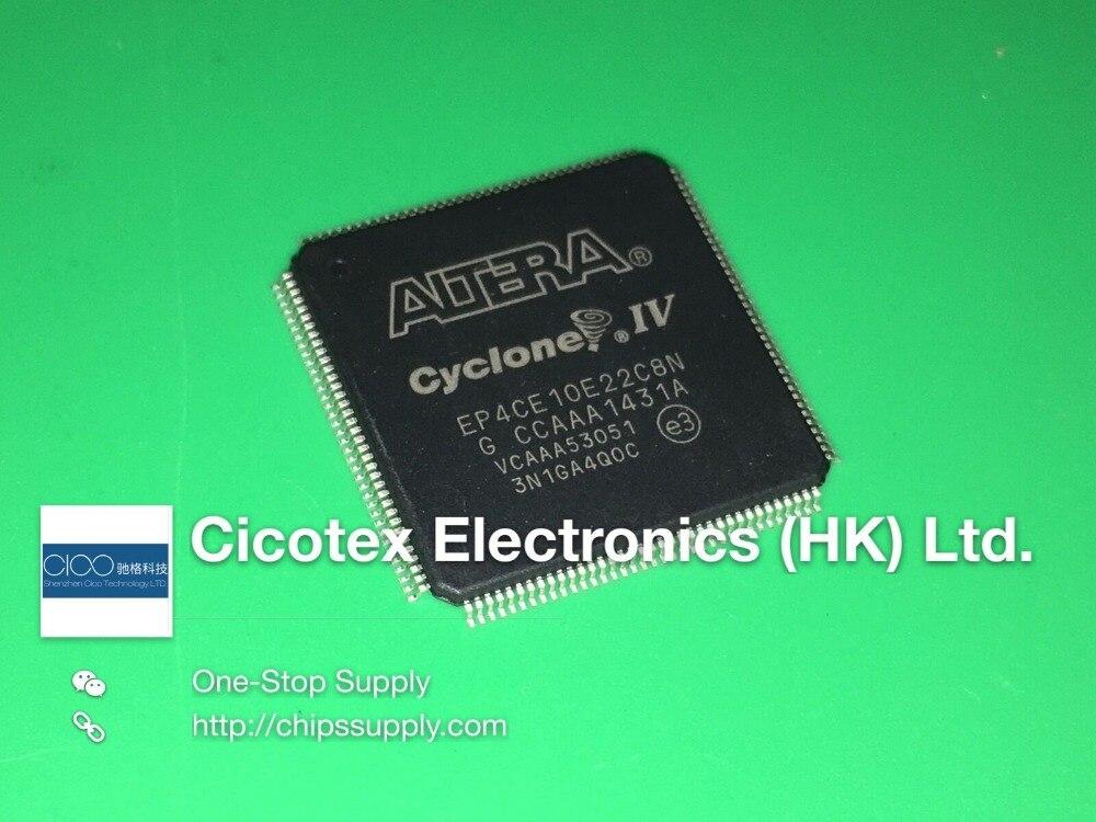 EP4CE10E22C8N TQFP144 EP4CE10E22C-8N 4CE10E22 C8N IC FPGA 91 I-O 144EQFP EP