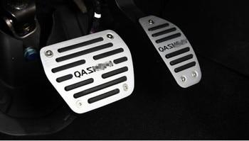 Een Set Niet-Boren Auto Gas Brandstof Rem Voetsteun Gaspedaal Plaat Pad Voor Nissan Qashqai 2016 Auto Accessoires