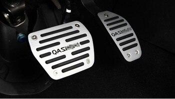 Một Bộ Không-Khoan Xe Gas Nhiên Liệu Phanh Footrest Accelerator Pedal Tấm Pad Đối Với Nissan Qashqai 2016 Phụ Kiện Xe Hơi