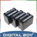 Digital Boy 3 unids/lote NP-F970 NP F970 NP-F960 NP-F950 6600 mAh batería recargable para Sony CCD-RV100 CCD-TRV58 DCR-TRV110K z1