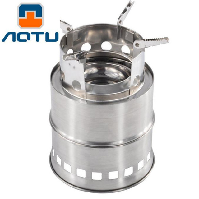 Outdoor Portable Split Stainless Steel Stove Lightweight Camping ...