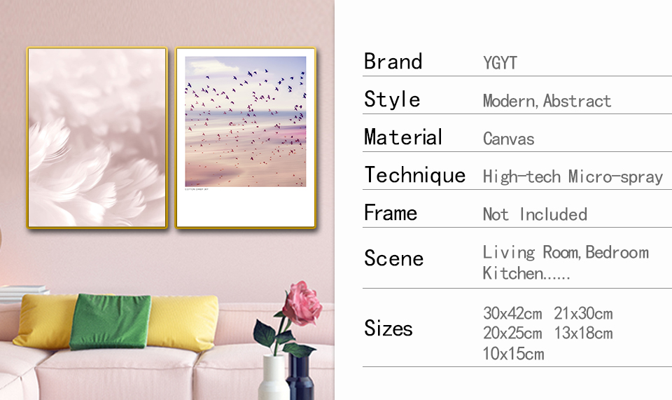 HTB1KIYkasrrK1RjSspaq6AREXXa5 Posters And Prints Canvas Feather Quote Painting Wall Art Black White Pictures For Living Room Nordic Minimalist Decoration