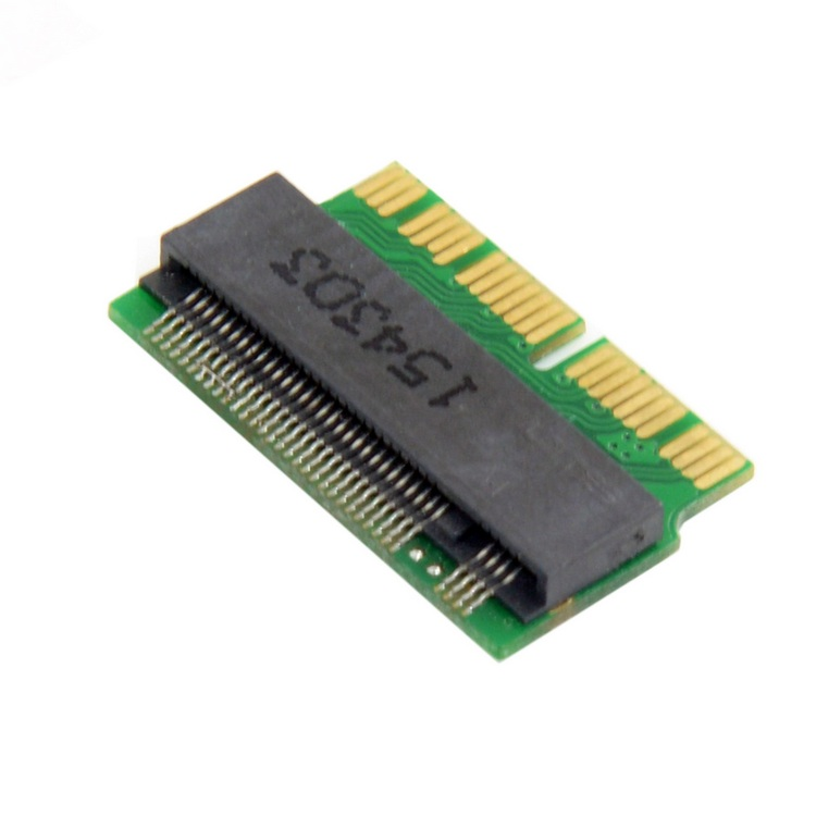 H1111Z Add On Cards PCIE to M2 <font><b>Adapter</b></font> M.2 SSD PCIE <font><b>Adapter</b></font> SSD M2 <font><b>Adapter</b></font> M.2 NGFF AHCI 2280 SSD <font><b>12</b></font>+<font><b>16</b></font> <font><b>Pin</b></font> for Macbook Air 2013 image