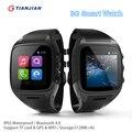X01 Bluetooth Smart Watch Android Smartwatch С GPS Tracker MTK6572 2 Г 3 Г Двухъядерный Мобильный Телефон с Поддержкой Wi-Fi Sim-карты камера