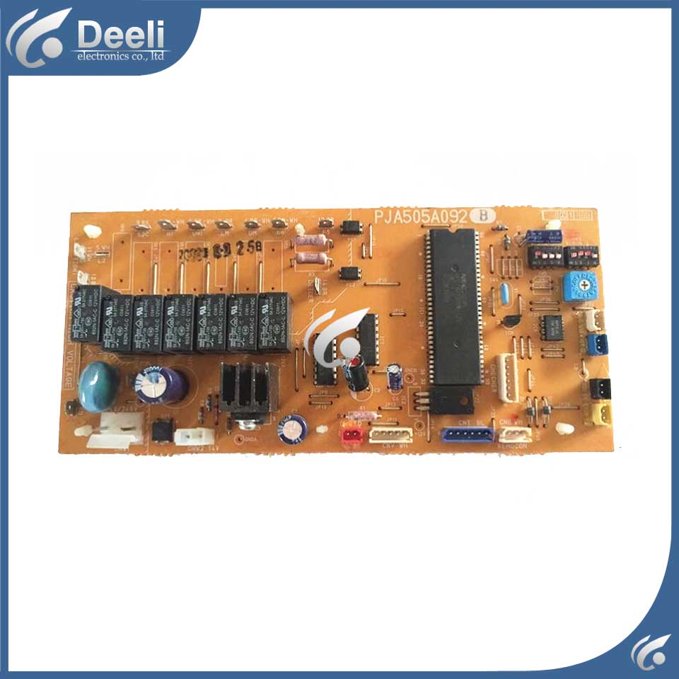 good working for air conditioning Computer board PJA505A092B circuit board used original for air conditioning computer board control board gal0902gk 01 gal0403gk 0101 used good working