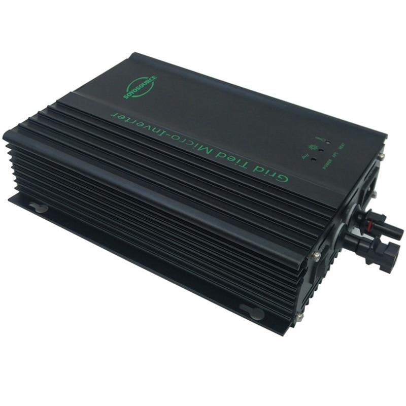 600 W 48 v grille cravate onduleur pour PV-cov entrée 55-90 v dc à ac 120 V ou AC230V 50 HZ ou 60Hz onduleur photovoltaïque pour batterie 48 V