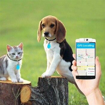 New Modern Mini GPS Tracker Anti-Perso Bluetooth Impermeabile Tracciante Per Cane di Animale Domestico Del Gatto Tasti Del Sacchetto Del Raccoglitore Bambini Tracker attrezzature Finder