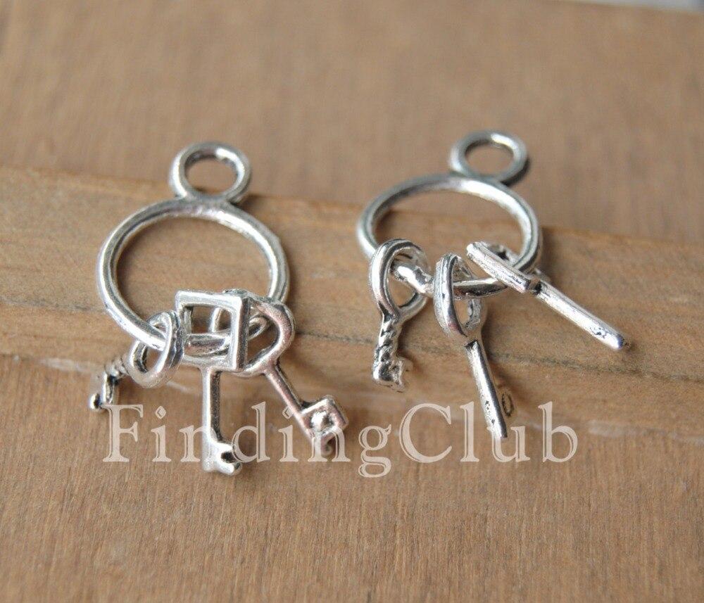 80pcs Charm Pendant Jewelry Finding Antique Tibetan Silver Sun 17x12x2mm