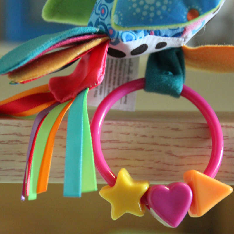 طفل خشخيشات الهواتف النقالة ألعاب الأطفال التعليمية أفخم الببغاء طفل لعب Brinquedos الفقرة بيبي Pelucia بيبي عربة طفل اللعب