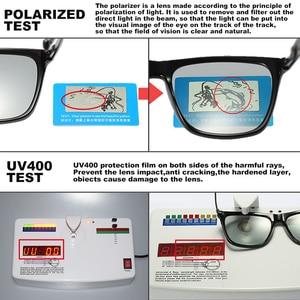 Image 4 - Brand Chameleon Sunglasses Photochromic Men Women Day Night Vision Driving Goggles Aluminium legs oculos gafas de sol hombre