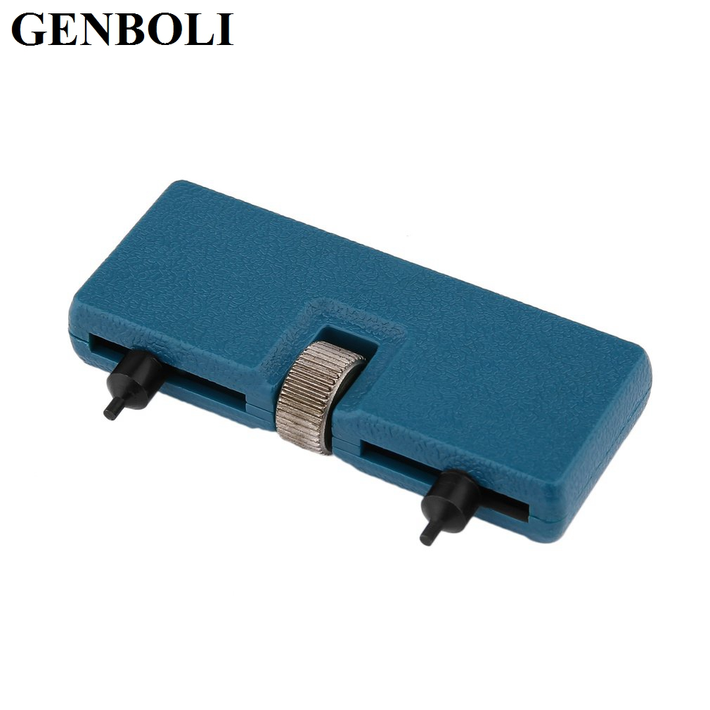 GENBOLI Watch Table Repair Tool Portable Mini Two Claw Open Cover Device Watch Open The Rear Cover with Big Caliber