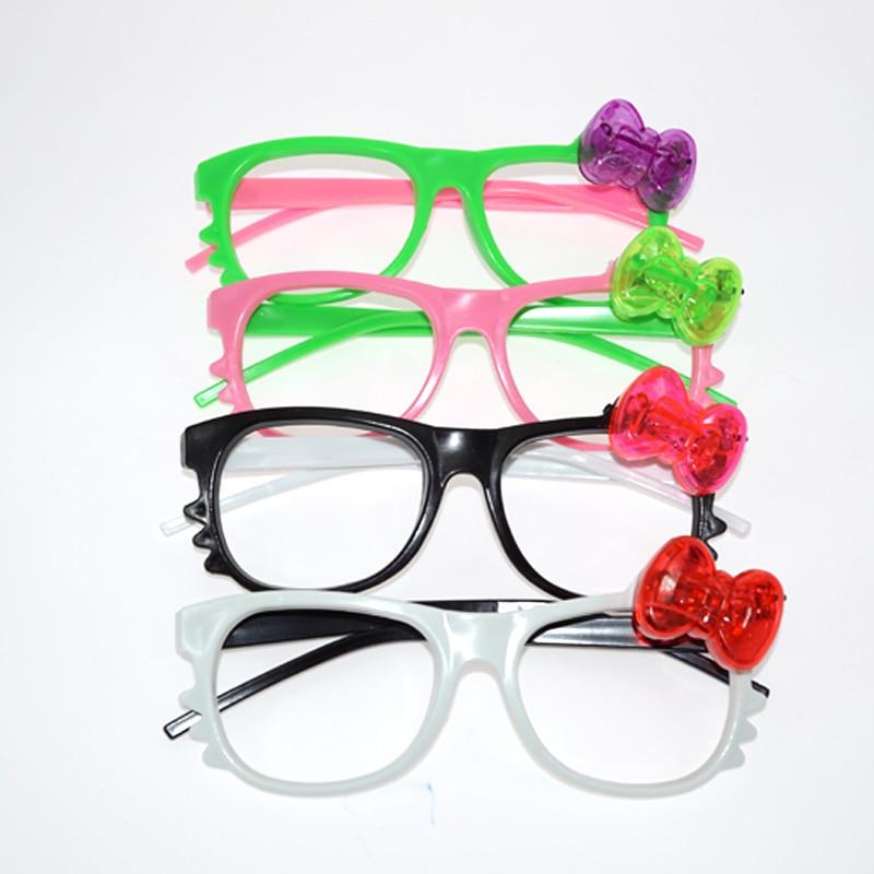 6pcs / lot LED vodio naočale sjaj treperi slatka crtani naočale - Za blagdane i zabave - Foto 2