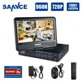 SANNCE 960H H.264 HDMI Security System CCTV DVR 8 Channel Mini DVR For CCTV Kit DVR 8 Channel 720P 960H 15fps Mini DVR RS485 PTZ