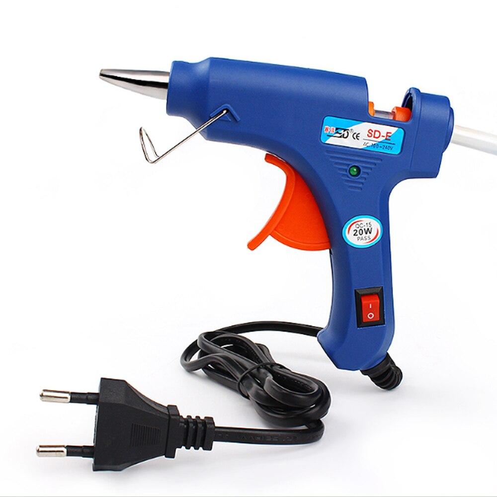 High temp hot melt glue gun for diy 20w handmade craft for Heat guns for crafts