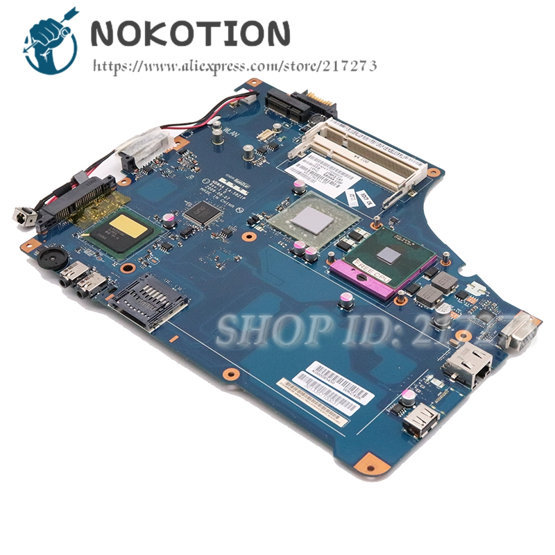 NOKOTION laptop motherboard For Toshiba Satellite L455 NBWAA LA-5821P K000085450 mainboard GL40 DDR2 free cpuNOKOTION laptop motherboard For Toshiba Satellite L455 NBWAA LA-5821P K000085450 mainboard GL40 DDR2 free cpu