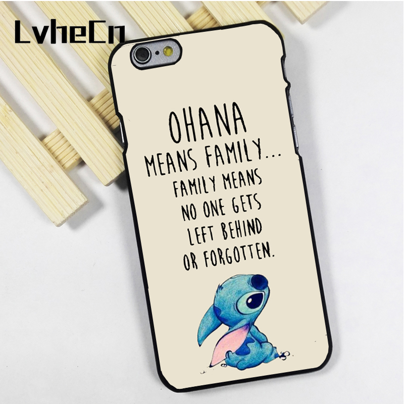 Cellphones & Telecommunications Fitted Cases Lvhecn 5 5s Se Phone Cover Cases For Iphone 6 6s 7 8 Plus X Xs Max Xrtpu Cute Cartoon Animal Ohana Means Family Lilo Stich Buy Now