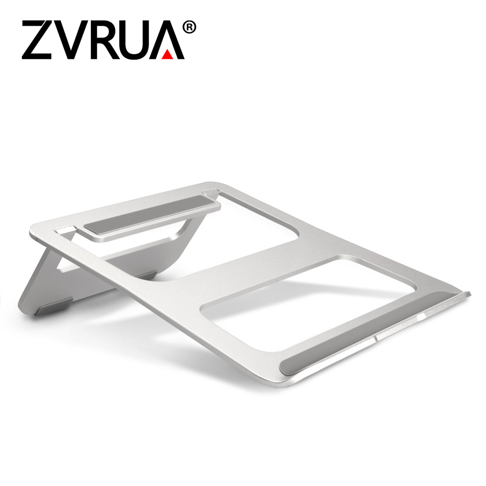 ZVRUA Laptop Stand Portable Tablet Holder Aluminium Laptop Stands For MacBook Air Mac Book Pro 120 Degree Tablet Mount SoporteZVRUA Laptop Stand Portable Tablet Holder Aluminium Laptop Stands For MacBook Air Mac Book Pro 120 Degree Tablet Mount Soporte