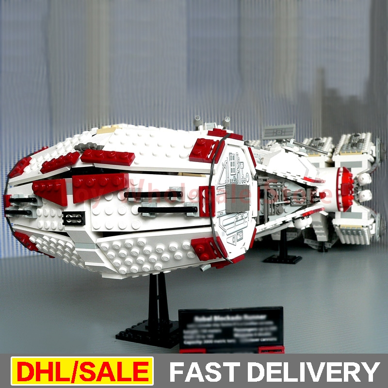 Lepin 05046 1748Pcs Star battle Kits The Tantive IV Rebel Blockade Runner Set Building Blcoks Bricks Lepins Toys Clone 10019
