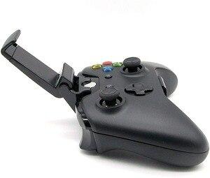 Image 4 - Pince de téléphone portable pour Xbox One S/support de support de poignée de montage de contrôleur mince pour Xbox One Gamepad pour Samsung S9 S8