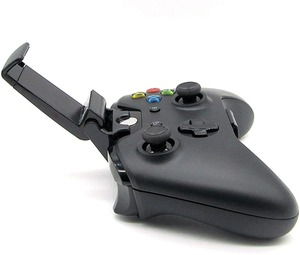 Image 4 - נייד טלפון קליפ עבור Xbox אחד S/Slim בקר הר לחיצת יד Stand מחזיק עבור Xbox אחד Gamepad עבור Samsung s9 S8