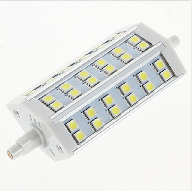 r7s j118 a mené l'ampoule, smd5050 118mm 36 led éclairage lampe
