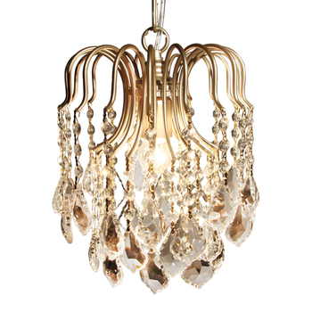 Luces colgantes modernas de cristal para pasillo K9, lámpara LED, artefactos colgantes,...