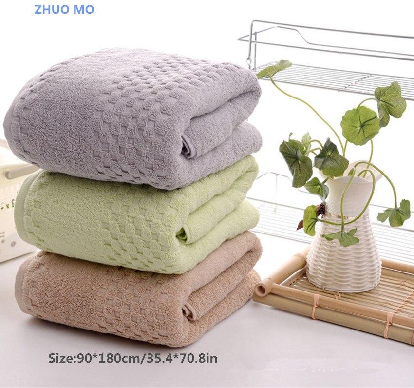 2 sztuk 90*180 cm ręczniki kąpielowe 900g luksusowe pościel z egipskiej bawełniane ręczniki kąpielowe dla osoby dorosłe dodatkowe duża Sauna TerrySheets duży ręcznik w Ręczniki kąpielowe od Dom i ogród na  Grupa 1