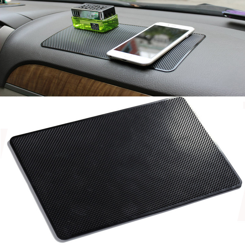 Sticky-Gel-Pad Sunglasses-Holder Pvc-Mat Phone Car Dashboard Interior Anti-Slip Car-Styling