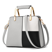 MONNET CAUTHY New Bags for Women Classic Leisure Fashion Office Lady Handbags Patchwork Color Dark Grey Black Crossbody Totes