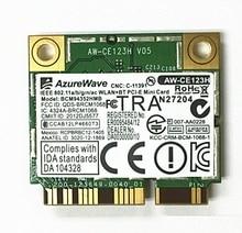 SSEA Для AzureWave Broadcom BCM94352HMB BCM94352 802.11/ac 867 Мбит wi-fi DW1550 Половина Mini PCI-E Беспроводной Карты без Bluetooth