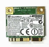 SSEA NEW For AzureWave Broadcom BCM94352HMB BCM94352 802.11/ac 867Mbps wifi Half Mini PCI E DW1550 Wireless Card with Bluetooth