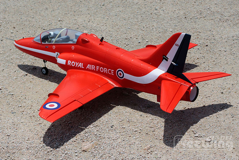 RC plane EDF jet New Freewing Bae Hawk 70mm plane model KIT with servos and KIT
