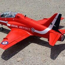 RC самолет EDF jet Freewing Bae Hawk 70 мм комплект модели самолета с сервоприводы и комплект версия